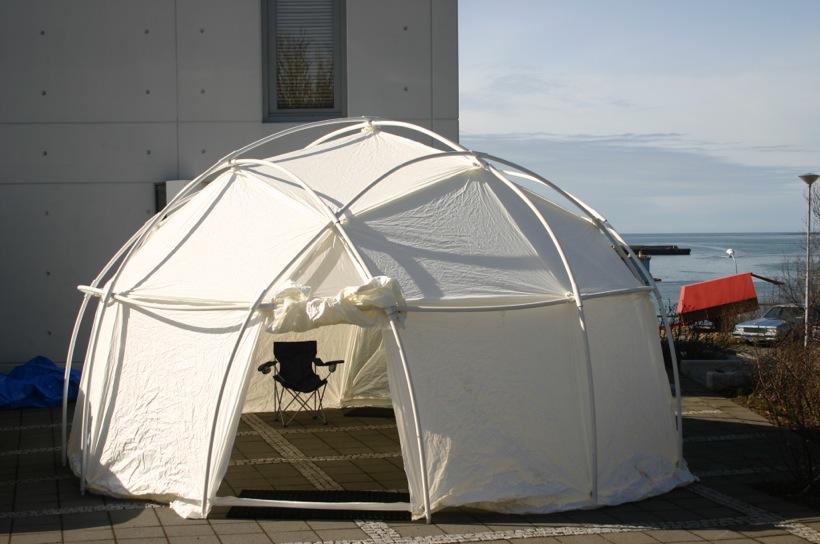 12 l beach dome