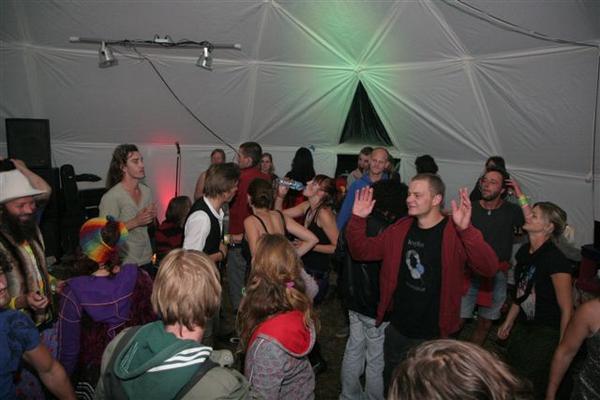 bubble inside party