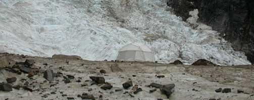 glacier dome tent