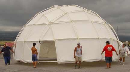 hi move dome yurt