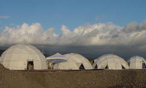 hi tall dome yurts