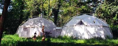 studio yurt domes
