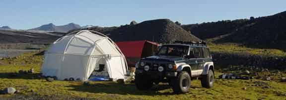 Yurt Dome Iceland